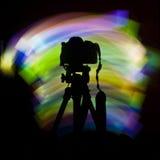 Luz de la cámara Fotografía de archivo