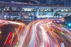 Luz de la carretera Imágenes de archivo libres de regalías
