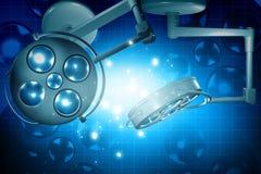 Luz de la cirugía Fotografía de archivo libre de regalías