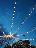 Luz de la ciudad Fotos de archivo libres de regalías