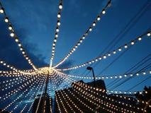 Luz de la ciudad Fotografía de archivo