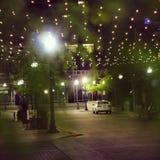 Luz de la ciudad Imagenes de archivo