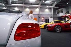 Luz de la cola, Bentley Imágenes de archivo libres de regalías