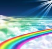 Luz de la esperanza y de la paz Fotos de archivo libres de regalías