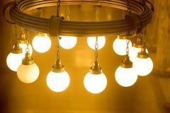 Luz de la estación de tren Fotografía de archivo libre de regalías