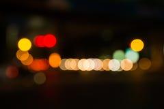 Luz de la falta de definición de la Navidad Foto de archivo