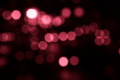 Luz de la falta de definición de la Navidad Fotografía de archivo libre de regalías