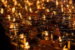 Luz de la fe Fotos de archivo