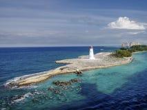 Luz de la isla del paraíso, Bahamas Fotografía de archivo