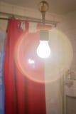 Luz de la lámpara Imágenes de archivo libres de regalías