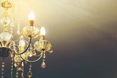 Luz de la lámpara Imagen de archivo