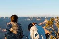 Luz de la mañana en Grand Canyon, Arizona, los E.E.U.U. fotografía de archivo