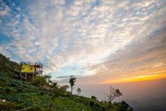 Luz de la mañana en la colina 2 Fotos de archivo