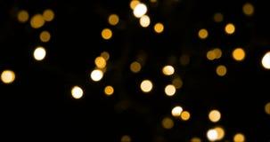 Luz de la Navidad almacen de metraje de vídeo