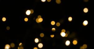 Luz de la Navidad almacen de video