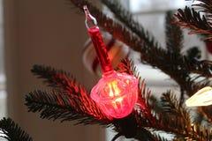 Luz de la Navidad fotografía de archivo libre de regalías