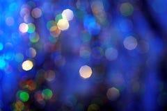 Luz de la Navidad fotos de archivo libres de regalías