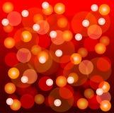 Luz de la Navidad que brilla intensamente stock de ilustración