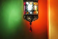 Luz de la noche árabe Imagenes de archivo