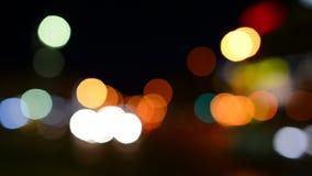 Luz de la noche almacen de metraje de vídeo