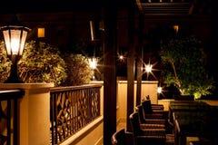 Luz de la noche Imagen de archivo
