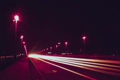 Luz de la noche Fotografía de archivo