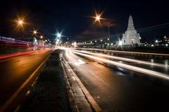 Luz de la noche Foto de archivo libre de regalías
