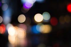 Luz de la noche Imagenes de archivo