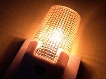 Luz de la noche con el sensor Fotografía de archivo