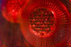 Luz de la parada del coche Imagen de archivo