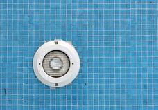 Luz de la piscina Fotos de archivo libres de regalías