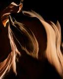 Luz de la roca del barranco de la ranura de Arizona Imagenes de archivo