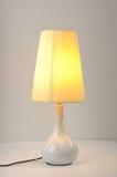 Luz de la tabla de la lámpara de escritorio Foto de archivo libre de regalías