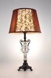 Luz de la tabla de la lámpara de escritorio Imagen de archivo libre de regalías