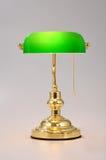 Luz de la tabla de la lámpara de escritorio Imagen de archivo