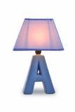 Luz de la tabla de la lámpara de escritorio Fotos de archivo libres de regalías