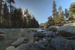 Luz de la tarde de Sierra Imagen de archivo