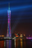 Luz de la torre de la TV Imagen de archivo