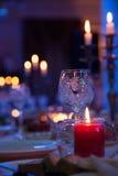 Luz de la vela Imágenes de archivo libres de regalías