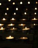 Luz de la vela Fotos de archivo