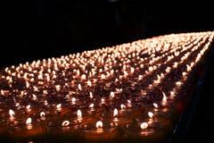 Luz de la vela Foto de archivo libre de regalías