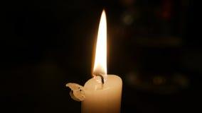 Luz de la vela Imagen de archivo