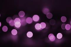 Luz de la violeta del día de fiesta Imagen de archivo