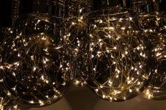 Luz de las lámparas Fotos de archivo