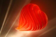 Luz de las tarjetas del día de San Valentín Imagen de archivo