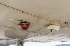 Luz de los aviones Imagenes de archivo