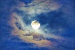 Luz de lua Imagem de Stock Royalty Free
