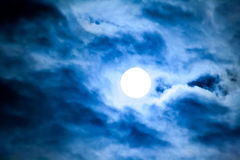 Luz de lua Fotografia de Stock