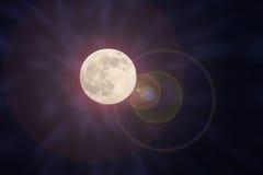 Luz de lua Foto de Stock Royalty Free