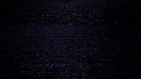 Luz de lua refletindo de incandescência da superfície do mar na noite Paisagem do mistério e da mágica vídeos de arquivo